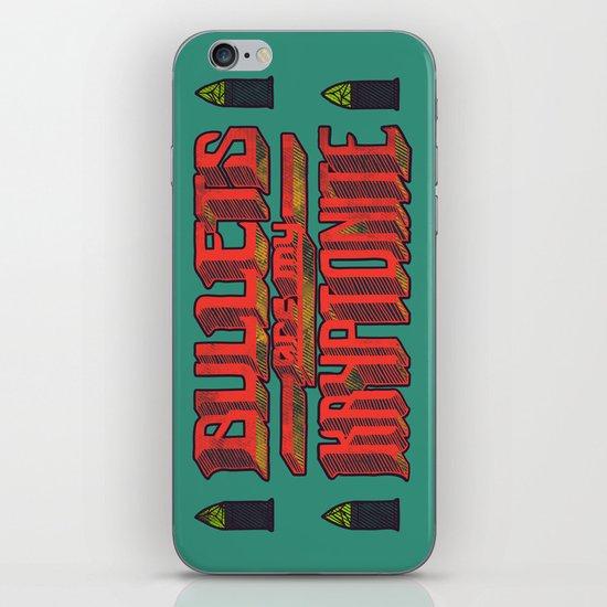Kryptonite (alternate) iPhone & iPod Skin