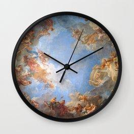 Fresco in the Palace of Versailles Wall Clock