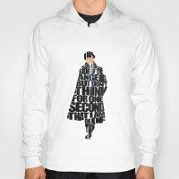 sherlock holmes Hoodies featuring Sherlock Holmes by Ayse Deniz