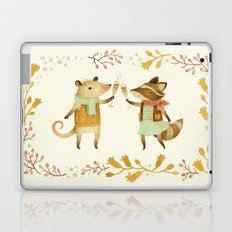 Cheers! From Pinknose the Opossum & Riley the Raccoon Laptop & iPad Skin