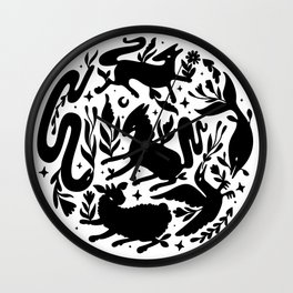 Daimon moon Wall Clock