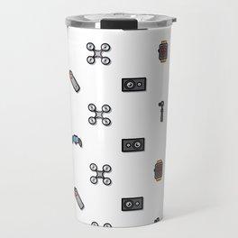Technology Pattern Ang Travel Mug