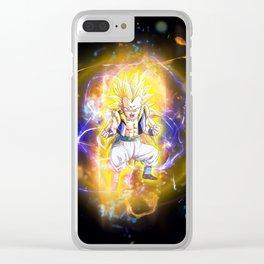 Gotenks SSJ3 Clear iPhone Case