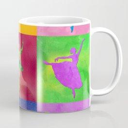 AP125 Watercolor dancer Coffee Mug