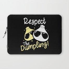 Cool Dumpling Shirt Motif Laptop Sleeve
