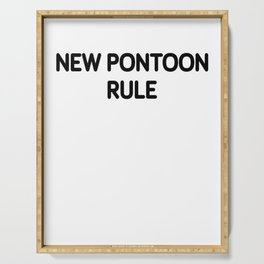 Funny Pontoon Boat design Pontoon Rule design Serving Tray