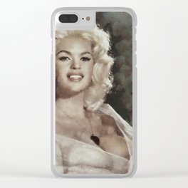 Jayne Mansfield, Actress and Pinup Clear iPhone Case