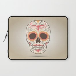 beatiful skull Laptop Sleeve