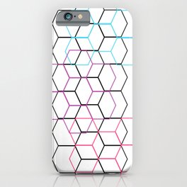 None of Your Beeswax - Pastel on White iPhone Case