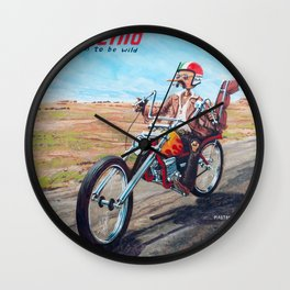 Pinocchio - Born to be wild Wall Clock
