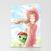 digimon Stationery Cards featuring Digimon Dream Mimi by valsharea