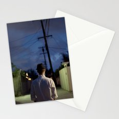 man out of time Stationery Cards