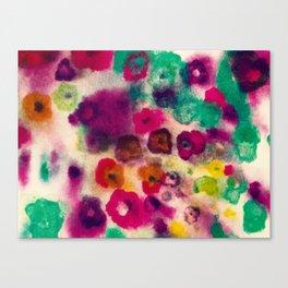 flower pattern II Canvas Print