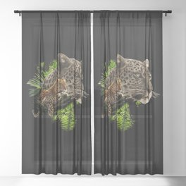 jaguar Sheer Curtain