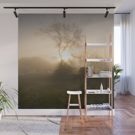Misty morning Wall Mural