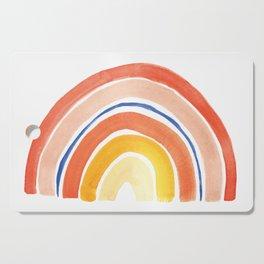 Desert Rainbow Cutting Board