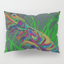 Colorful Lizard Pillow Sham