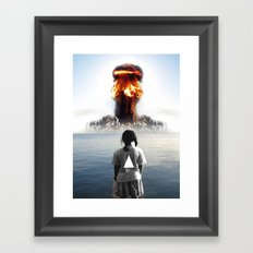 Nuke My Home Framed Art Print