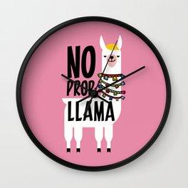 No Prob-Llama Wall Clock