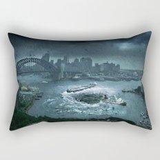 The Big Swallow Rectangular Pillow