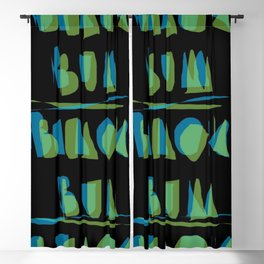 BEACH BUM Blackout Curtain