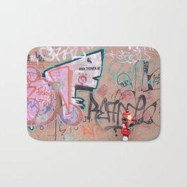 Cluj Graffiti Bath Mat