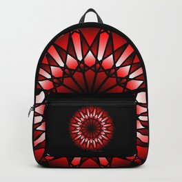 Burnt Umber Wonder Mandala Backpack