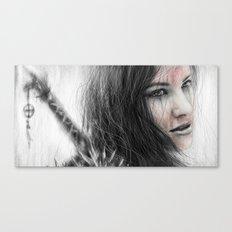 Bloodshed Canvas Print
