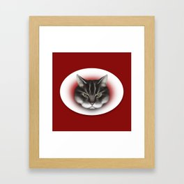 sinister kitty Framed Art Print