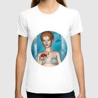 fairytale T-shirts featuring Fairytale Mermaid by Design Windmill