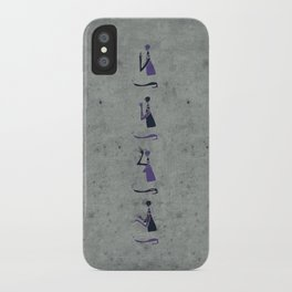 Forms of Prayer - White iPhone Case