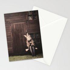 Rabbit II Stationery Cards