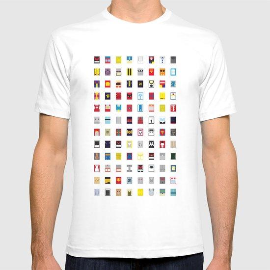Minimalism robots (Good natured / Defenders) T-shirt