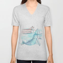Jonah and The Whale Unisex V-Neck