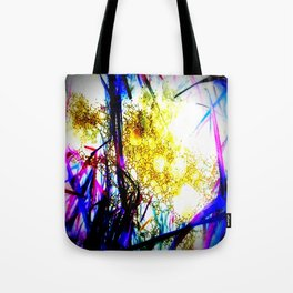 Raindrops in the Grass Tote Bag