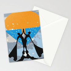 man power2 Stationery Cards