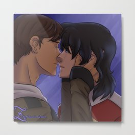Klance (Keith and Lance) Voltron: LD Metal Print
