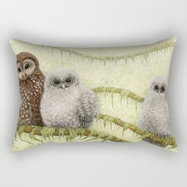 Northern Spotted Owls Rectangular Pillow