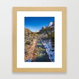 Virgin_River 4764 - Canyon Junction Zion Framed Art Print