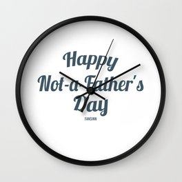Papa Father's Day gift family man Wall Clock