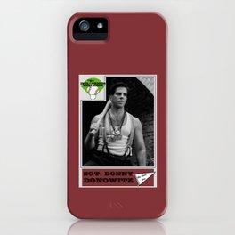 Donowitz Ball Card iPhone Case