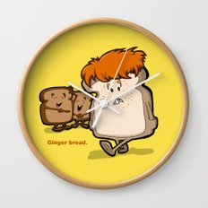 Ginger Bread Wall Clock