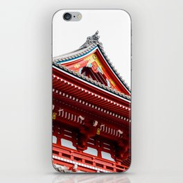 Temple Detail iPhone Skin