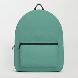 Green Sheen - solid color Backpack