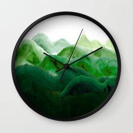 山秀谷 Wall Clock