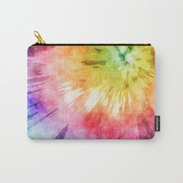 Tie Dye Watercolor Carry-All Pouch