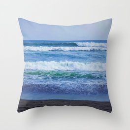 Echo Beach, Bali Throw Pillow