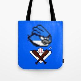 Pixel BlueJays Tote Bag