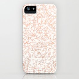 Golden Marble Lace Pattern iPhone Case