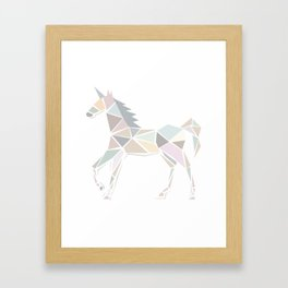 Be a Unicorn Framed Art Print